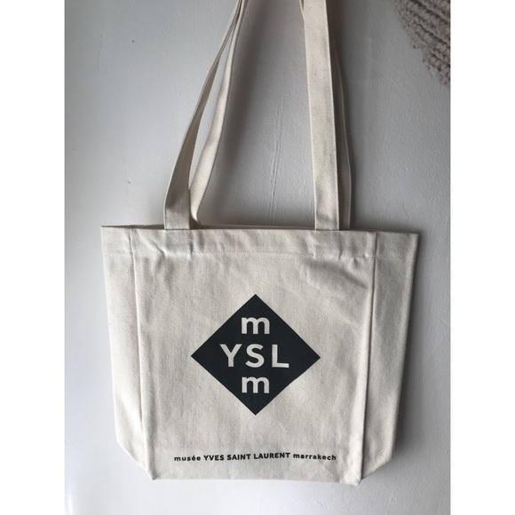 7b3c9ed8de3dd Yves Saint Laurent Bags | Nwot Ysl Museum Canvas Tote | Poshmark